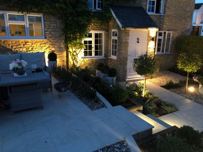 As always, lighting adds that extra layer of interest and drama to the garden.