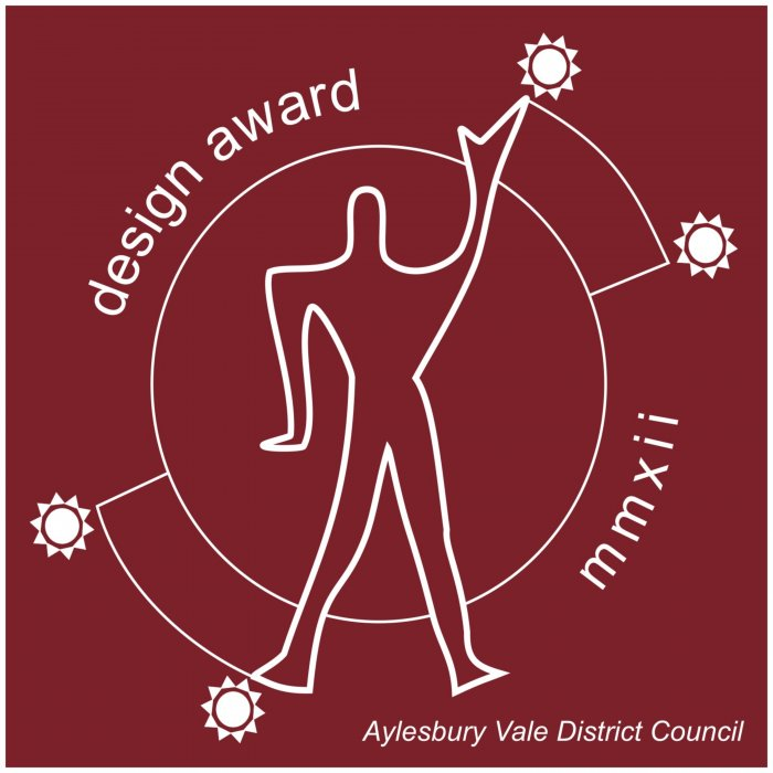 The Aylesbury Vale design Award that the project received, all the team were delighted.